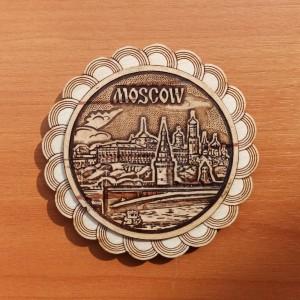 """Магнит """"Москва""""    Артикул: 00107-"""
