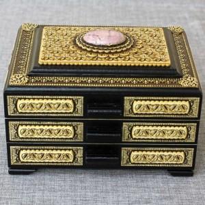 Шкатулка деревянная комод прорезной с-к Артикул 05001-5   180x150x110