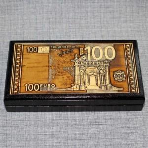 "Шкатулка под купюры ""Евро"" Артикул 01445-60  175х95х25 Шкатулка выверена под размер банкнот"