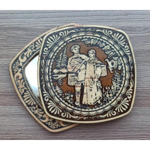 "Зеркало квадратное ""Иван и Марья (1)  Артикул: 00314-8047"