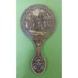 """Зеркало с ручкой """" Баянист """" Артикул 00316-17937"""
